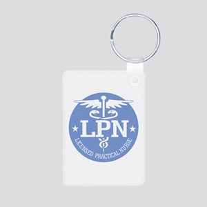 Caduceus LPN Keychains