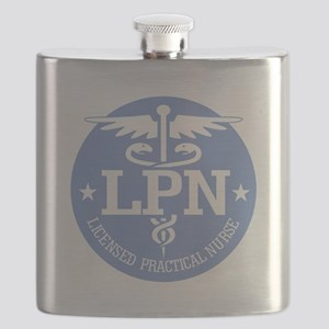 Caduceus LPN Flask