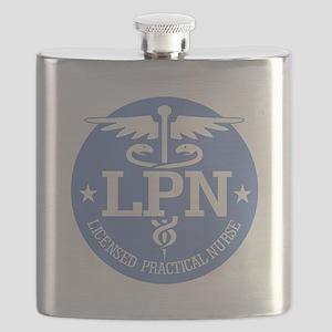 Caduceus LPN Flask