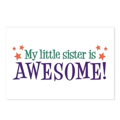My Little Sister is Awesome Postcards (Package of
