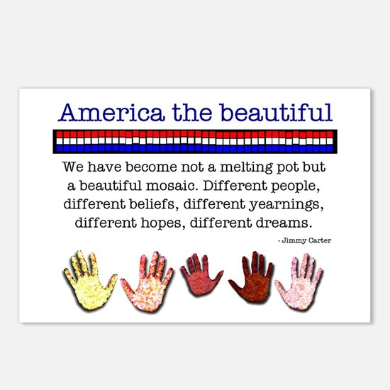 America the Beautiful Postcards (Package of 8)