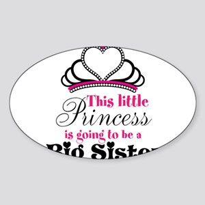 Big Sister to be Princess Sticker