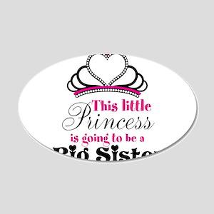 Big Sister to be Princess Wall Decal
