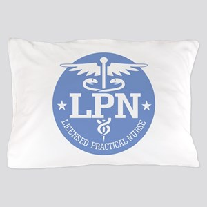 Caduceus LPN Pillow Case