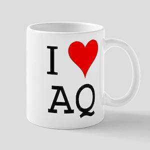 I Love AQ Mug