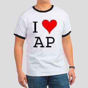 I Love AP Ringer T