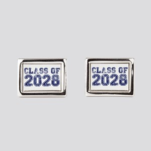 Class of 2028 Rectangular Cufflinks
