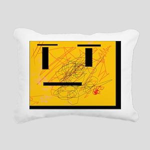 mr skribble Rectangular Canvas Pillow