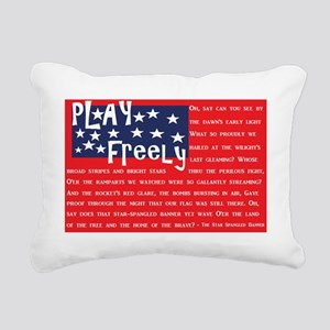 American play Rectangular Canvas Pillow