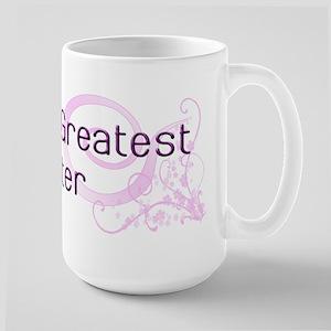 World's Greatest Sister Large Mug