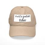 World's Greatest Sister Cap