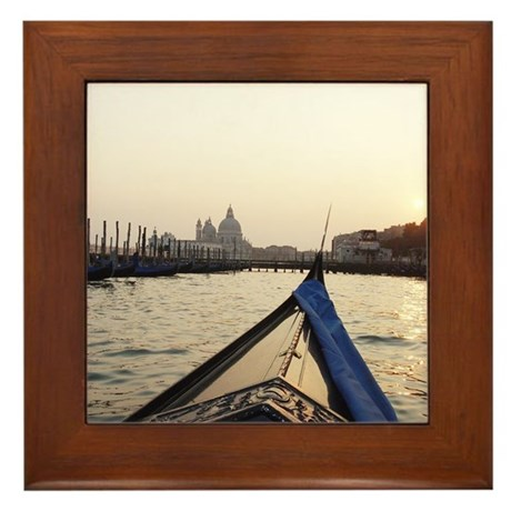Travel Photography Framed Tile