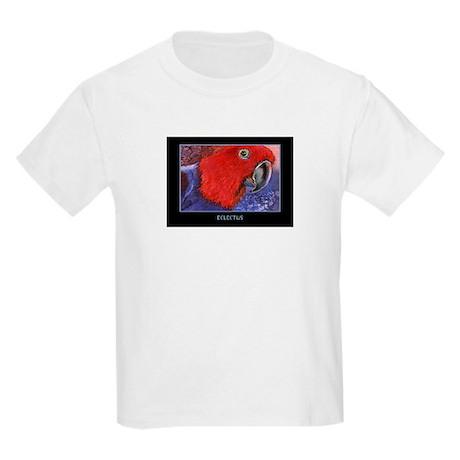 Eclectus Parrot Kids Light T-Shirt
