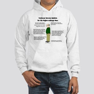 Higher Mileage Man Hooded Sweatshirt
