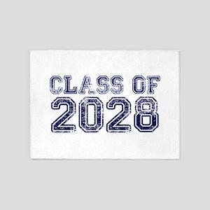 Class of 2028 5'x7'Area Rug