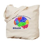 BBBB Brain Tote Bag