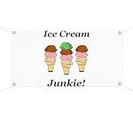 Ice Cream Junkie Banner
