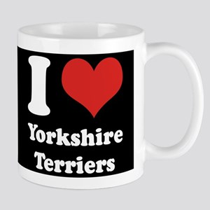 I Heart Yorkshire Terriers Mug