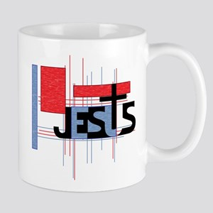 jesus logo back Mugs