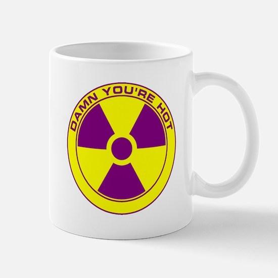 RAD YM Damn You're Hot Mug