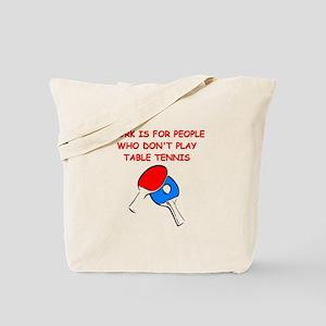 TABLETENNIS Tote Bag