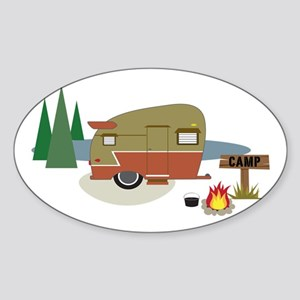 Camping Trailer Sticker