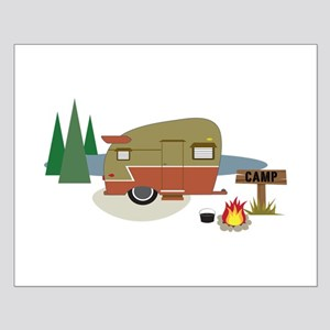 Camping Trailer Posters