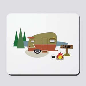 Camping Trailer Mousepad