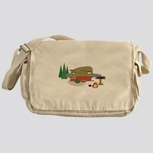 Camping Trailer Messenger Bag