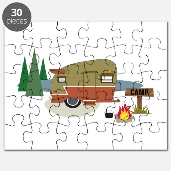 Camping Trailer Puzzle