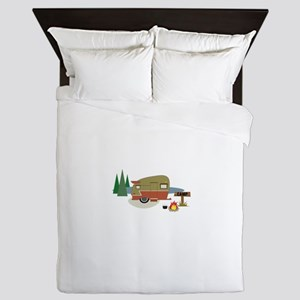 Camping Trailer Queen Duvet