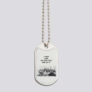 FENCING3 Dog Tags