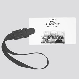 FENCING3 Luggage Tag