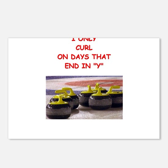 CURLING3 Postcards (Package of 8)