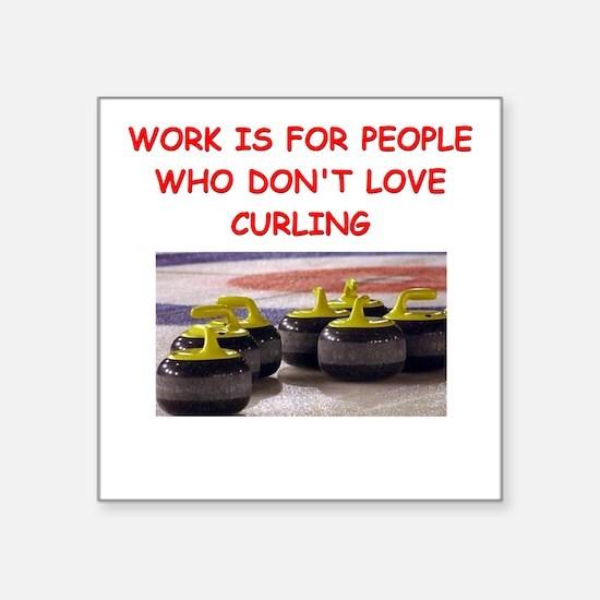 CURLING2 Sticker