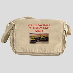 CURLING2 Messenger Bag