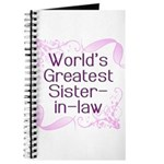 World's Greatest Sister-in-Law Journal