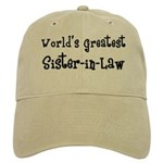 World's Greatest Sister-in-Law Cap