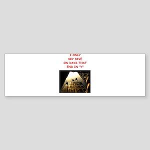SKYDIVE2 Bumper Sticker