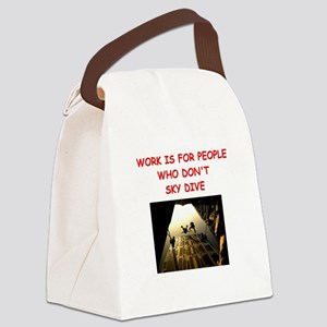 SKYDIVE Canvas Lunch Bag