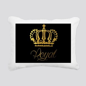 Royal Rectangular Canvas Pillow