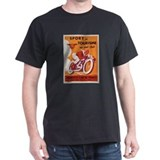 Vintage motorcycle Mens Classic Dark T-Shirts