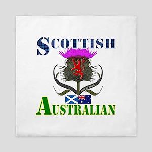 Scottish Australian Thistle Queen Duvet