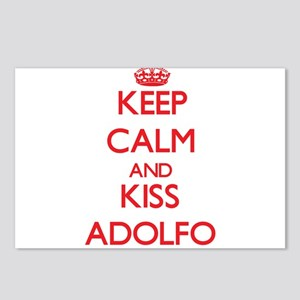 Keep Calm and Kiss Adolfo Postcards (Package of 8)