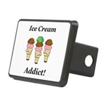 Ice Cream Addict Rectangular Hitch Cover