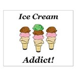 Ice Cream Addict Small Poster