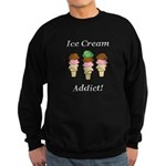 Ice Cream Addict Sweatshirt (dark)