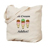 Ice Cream Addict Tote Bag