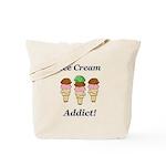 Ice Cream Addict Tote Bag