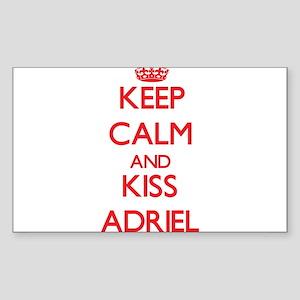 Keep Calm and Kiss Adriel Sticker
